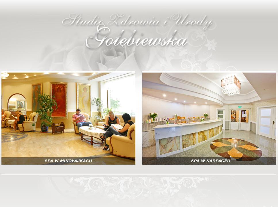 Spa Gołębiewska Studio Zdrowia I Urody Hotel Gołębiewski Masaże